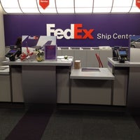Photo taken at FedEx Ship Center by Scottly on 12/15/2011