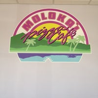 Photo taken at Molokai Pizza Cafe by Ayngelina B. on 4/16/2012