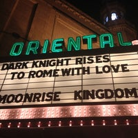 Photo taken at Oriental Theatre by toomuchmetal on 7/20/2012