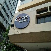 Photo taken at Corus Hotel Kuala Lumpur by Apiz G. on 11/2/2011