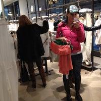 Photo taken at Zara by Carina V. on 3/26/2012