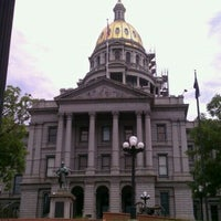 Photo taken at Colorado State Capitol by Robert K. on 8/14/2011