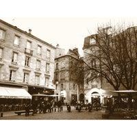 Photo taken at Place Saint-Pierre by Eduardo F. on 2/18/2012