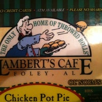 Photo taken at Lambert's Cafe by Dwayne R. on 8/16/2012