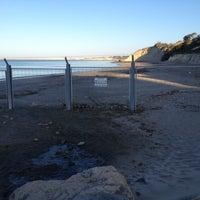 Photo taken at Playa de Fuentebravía by Kico on 9/3/2012