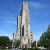 Photo taken at Cathedral of Learning by Nick B. on 4/20/2012