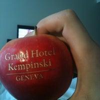 Photo taken at Grand Hotel Kempinski by Vladimir S. on 4/26/2012