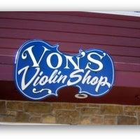 Photo taken at Von's Violin Shop by Denver Westword on 10/6/2011