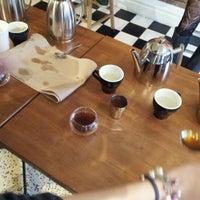 Photo taken at Pourquoi Pas Espresso Bar by Adbeus M. on 12/13/2011