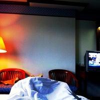 Photo taken at Grand Park Hotel by itt_ittipong on 1/8/2012
