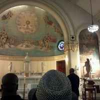 Photo taken at Church Of The Blessed Sacrament by Eliot P. on 4/28/2012