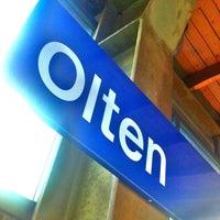 Photo taken at Bahnhof Olten by Lookzo B. on 5/29/2012