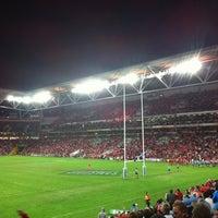 Photo taken at Suncorp Stadium by Nicolas A. on 7/14/2012
