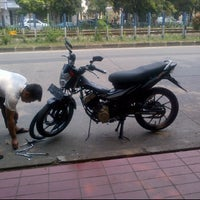 Photo taken at Lampu Merah Permata Hijau by Firman S. on 11/27/2011