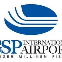 Photo taken at Greenville-Spartanburg International Airport (GSP) by Melinda T. on 8/21/2011