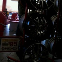 Photo taken at Discount Tire® Store by Patrick E. on 12/27/2011