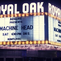 Photo taken at Royal Oak Music Theatre by Sean on 1/23/2012