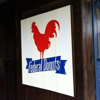 Photo taken at Federal Donuts by Tom G. on 7/8/2012