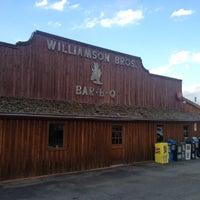 Photo taken at Williamson Bros Bar-B-Q by Pierre B. on 6/6/2012