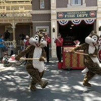 Photo taken at Disneyland Fire Department No. 1 by brian a. on 8/4/2012