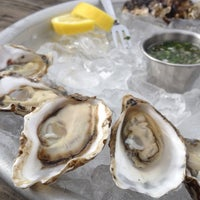 Photo taken at Hog Island Oyster Farm by Karla on 2/20/2012