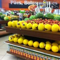 Photo taken at Superluna Supermercados by Edimilson C. on 7/1/2012