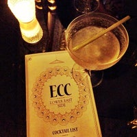Photo taken at Experimental Cocktail Club by Miriam S. on 9/11/2012
