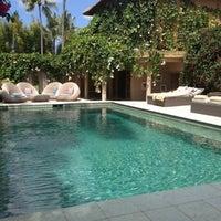 Photo taken at Villa Balquisse Bali by Beatriz on 8/22/2012