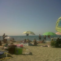 Photo taken at Spiaggia Libera by Iva P. on 9/9/2012