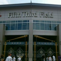 Photo taken at Fifth Third Field by JP W. on 9/3/2012