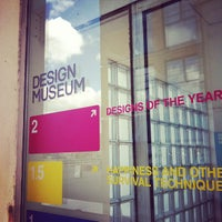 Photo taken at Design Museum by Daniel C. on 4/17/2012