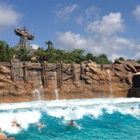 Photo taken at Disney's Typhoon Lagoon Water Park by Jasmine W. on 6/2/2012