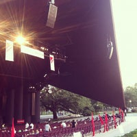 Photo taken at Miller Outdoor Theatre by Michael A. on 8/10/2012