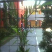 Photo taken at SMPN 43 Bandung by Dea Mutiara S. on 7/2/2012