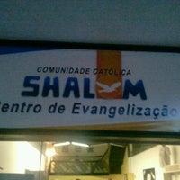 Photo taken at Centro de Evagelização Comunidade Católica Shalom by Vitor D. on 12/7/2011