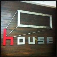 Photo taken at House by Jatu K. on 4/13/2012