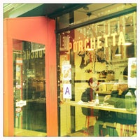 Photo taken at Porchetta by Claudia B. on 3/4/2012