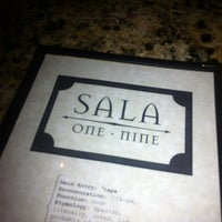 Photo taken at Sala One Nine by Siobhan Q. on 3/29/2012