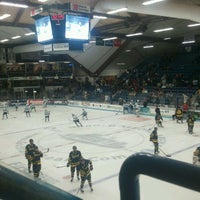 Photo taken at Alfond Arena by Nick G. on 3/9/2012