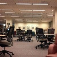 Photo taken at Joyner Library by Christina S. on 10/26/2011