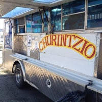 Photo taken at Churintzio Taco Truck by Jerad H. on 1/9/2012