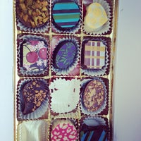 Photo taken at Lilly Handmade Chocolates by Courtney S. on 5/14/2012