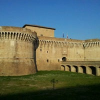 Photo taken at Rocca Roveresca by Carlo R. on 3/16/2012