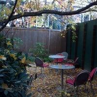 Photo taken at Linger Cafe & Lounge by Akshar P. on 11/10/2011
