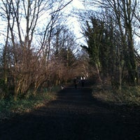 Photo taken at Parkland Walk (Crouch End to Highgate section) by Alexander T. on 1/2/2012