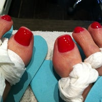 Photo taken at Polished Beauty Bar by Daryl E. on 3/18/2012