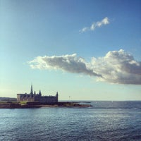 Photo taken at Kronborg Castle by Roger M. on 8/13/2012