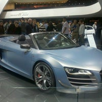 Photo taken at Audi Stand at Detroit Auto Show by Manuel M. on 1/16/2012