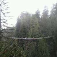 Photo taken at Capilano Suspension Bridge by Stanford on 12/28/2011