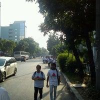 Photo taken at Jalan K.H. Wahid Hasyim by Fx M. on 11/13/2011
